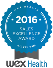 wex health sales award 2016